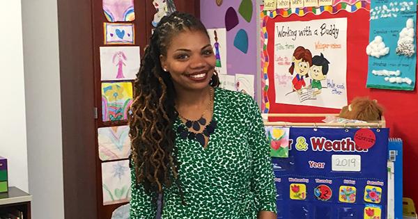 Lakeisha Brown, DC Teacher of the Year