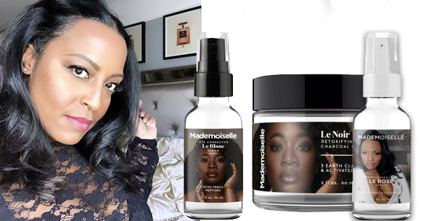 Ayanna Henderson, founder of Mademoiselle Beauty Products