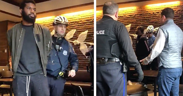 Black men arrested in Starbucks