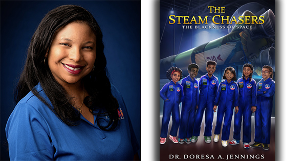 Dr. Doresa Jennings, author of STEAM Chasers book series