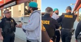 Steve Foster, Black man arrested for eating