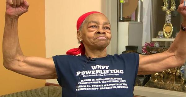 Willie Murphy, 82-year old bodybuilder