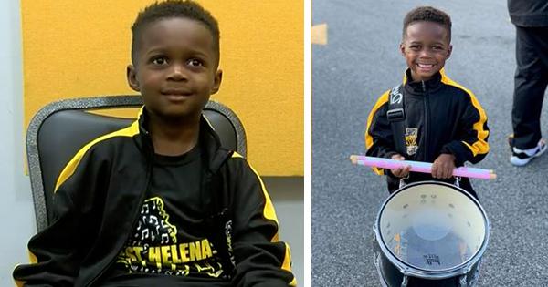 Jeremiah Travis, 5-year old drummer