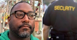 Kenya Wheeler, Black man confronted by security guards in Oakland