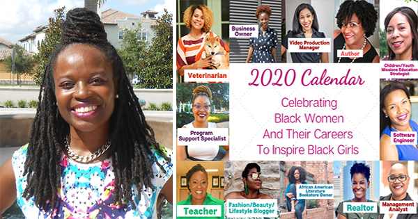 Martinique Brown, founder of the Today I Want to Be calendar