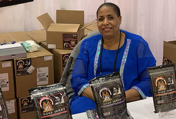 Michelle Timberlake, founder of Marjorie's Beef Jerky