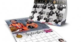 Black Goals 2020 calendar