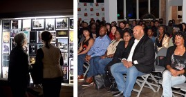 Attendees at the Denton Black Film Festival