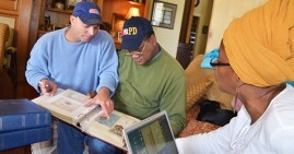 Dr. Antoinette Harrell and her team investigating Black families who still live on plantations