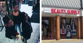 Black teens locked inside beauty supply store