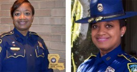 Treone Larvadain, first Black female police captain