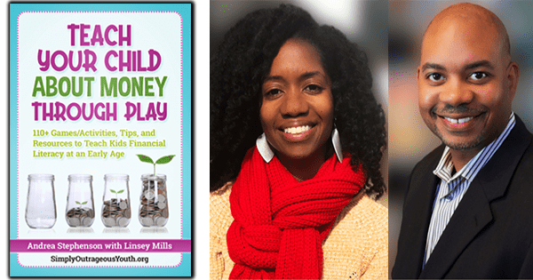 Andrea Stephenson and Linsey MIlls, authors of Teach Your Child Money Through Play