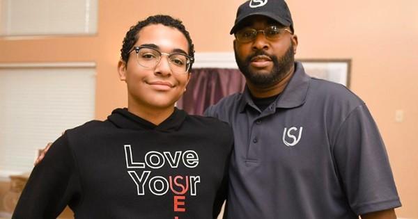 Father and son, JeNoah and Ya'hawquah Lee