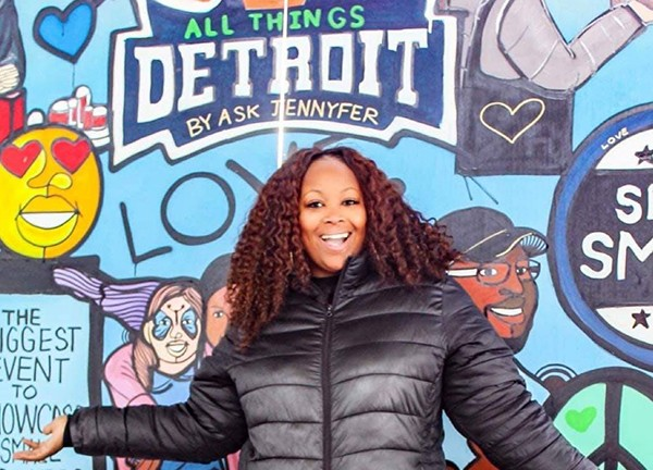 Jennyfer Crawford, founder of All Things Detroit