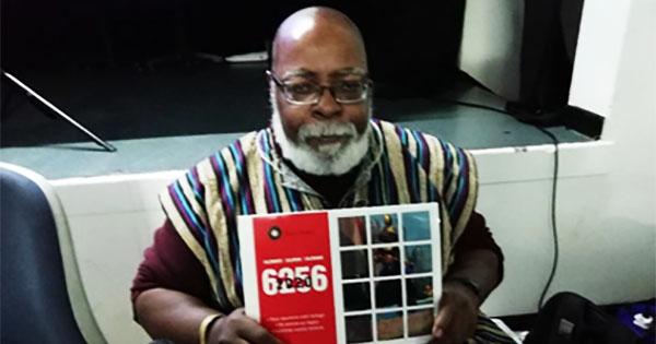 Nathaniel Biko, creator of trilingual Black history calendar