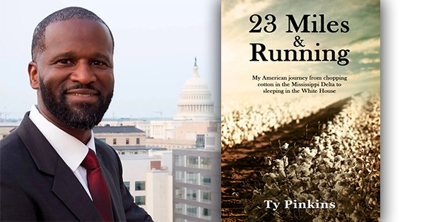Ty Pinkins, author of 23 Miles and Running