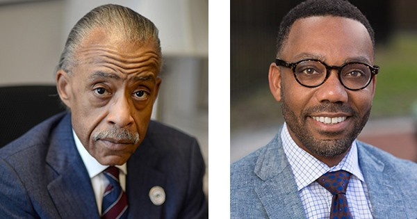 Al Sharpton and Andre Perry