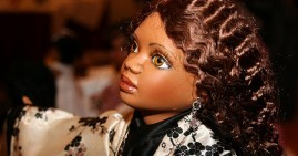 Black barbie doll