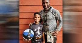 Chad Briscoe and Jamir, founders of Ball By Yourself