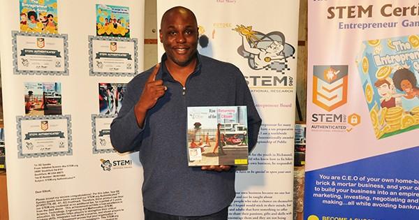 Elliott Eddie, inventor of the STEM certified board game