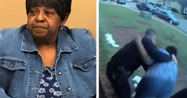 Rena Mellerson, grandmother arrested and slammed by police