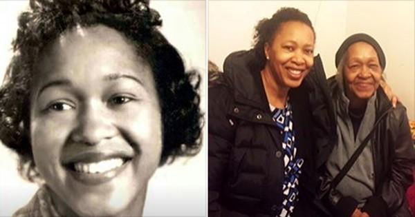 Grace LaJoy Henderson with her mom