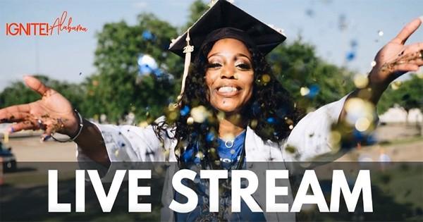 IGNITE Alabama live stream virtual graduation