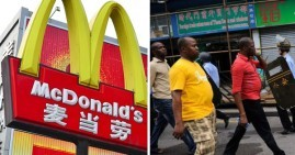 McDonald's in China bans Africans