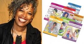 Rhonda Thomas, creator of adult coloring books