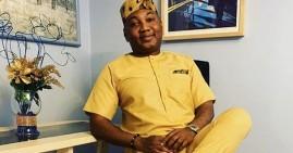 Chief Nana Obokese Ampah, founder of Obokese University in Ghana