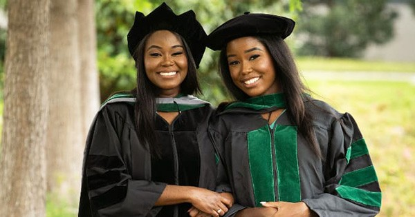 Cynthia and Jasmine Kudji, mother and daughter graduates from medical school