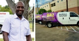 Dajadt Azakytu, founder of DAZ Plumbing