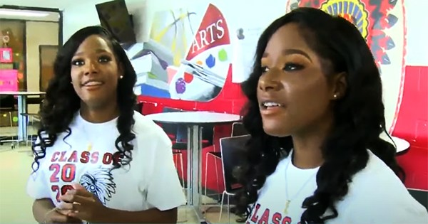 Richardson twins from Mississippi who graduated as valedictorian and salutatorian