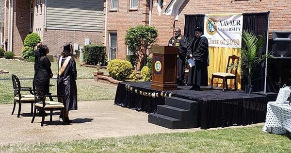 Torrence Burson, father who held graduation ceremony for his daughter