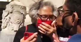 Joyce Beatty, Black congressman pepper sprayed