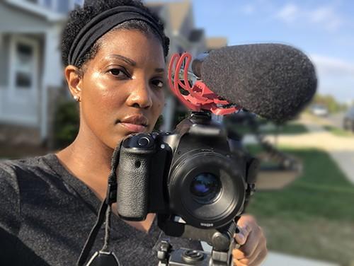 Brandi Webb, filmmaker of Betrayal of a Nation