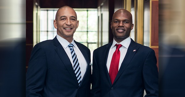 Derek Taylor and Darnell Parker, founders of Ingenious Financial