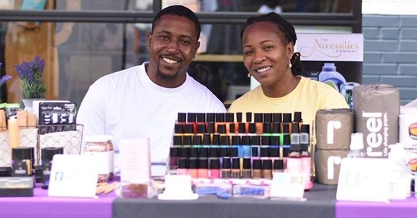 Troy and Aurora Nkrumah Dixon, founder The Necessities Company